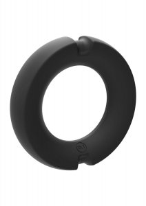 Doc Johnson Hybrid Silicone Metal Cock Ring - 50 mm